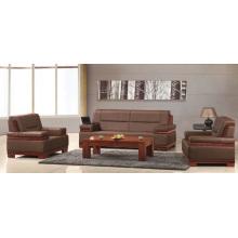 Davenport Furniture Brandy Rust Hard Wearing - Sofá de cuero