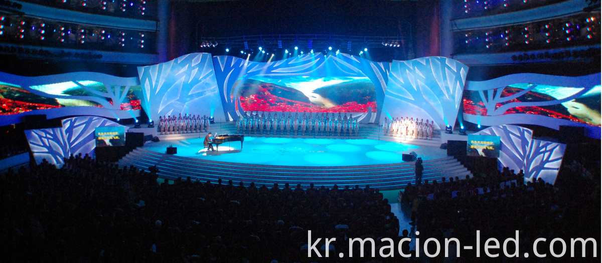 Rental led display outdoor