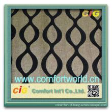 Mais recente design de moda muito colorido casa têxtil rebanho sofá tecido de microfibra