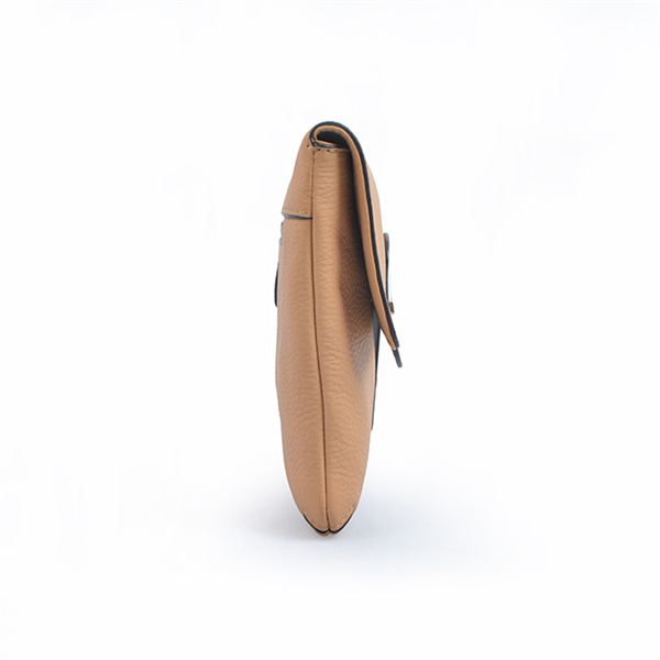 Women's leather high-end party clutch