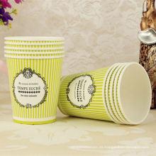 accesorios de fiesta taza de papel desechable de café