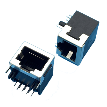 RJ45 Jack Half Shielded Front 3.05MM