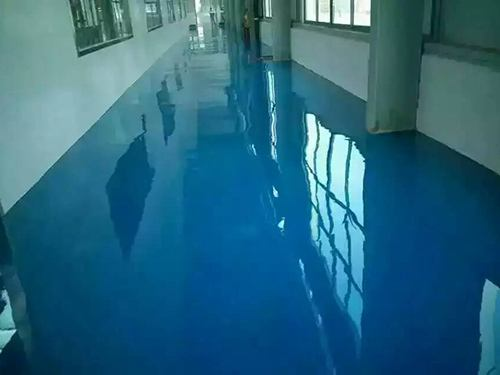 Solvent Free Epoxy Self Flowing Flat Paint