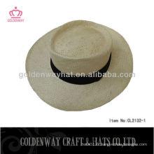 Chapeau de paille à la graine de paille à 100% naturel
