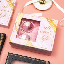 Premuim Pink Gift Packaging Paper Box