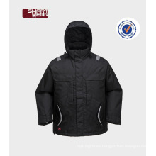 Good design winter parka mens safety clothing with tape seam