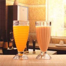 Copa de vidrio de jugo de bebida / Copa de vidrio de beber, Tumbler, Cristalería