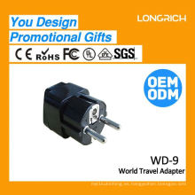 Multifuncional Travel enchufe múltiples tomas de corriente, 2 usb pared CE ce rohs aprobado