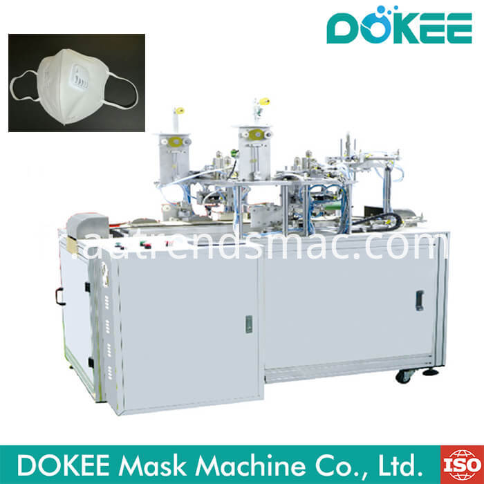 Nonwoven Face Mask Ear Loop Ultrasonic Welding Machine