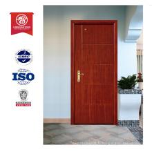 Meilleur design de porte en bois, porte intérieur en chêne, porte ignifuge