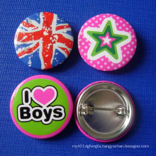 Different Designs of Button Badge, Tin Badge (GZHY-TB-008)