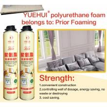 Impermeabilizante de espuma de poliuretano expansible espuma de espuma PU
