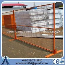 Hot dip galvanized temporary construction fence panels