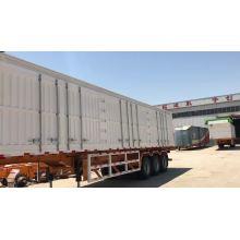 New Style Box Cargo Truck Trailer