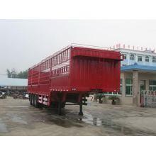 13m Tri-eixo caixa/estaca transporte Semireboque