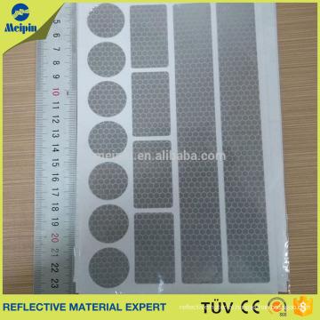Custom print cheap logo reflective stickers,waterproof self adhesive reflector sticker