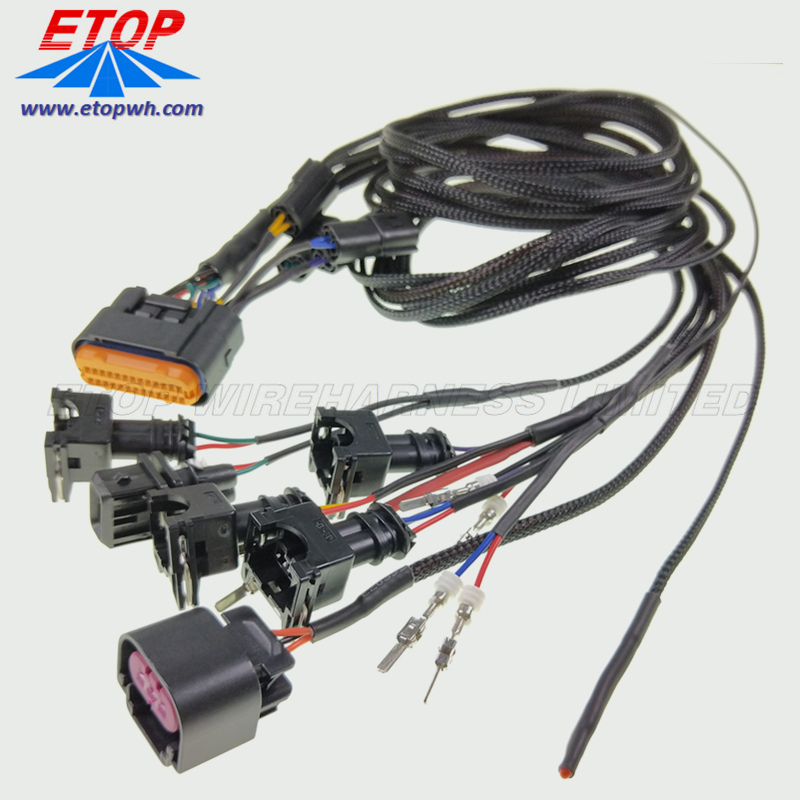 auto wire harness custom