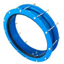 Adaptateur de bride de plage de diamètre large unique