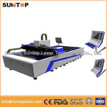 Découpe laser en acier inoxydable / machine à découper au laser CNC / acier à coupe au laser