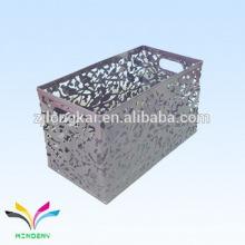 Casa contenga las cubiertas decorativas de la basura de la materia del metal para la venta usada del artículo