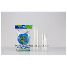 PP Material Einweg-Clear Water Cup