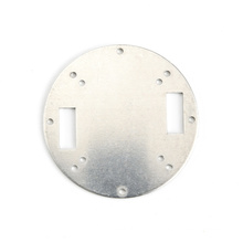 Rundblech Aluminiumlegierung Blech gestanzt Metall AL