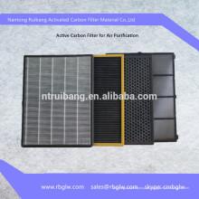 Purificador de Ar HEPA Active Carbon Filter Ventilação