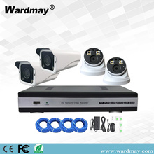 4chs 1080p Full Color POE IP Camera Systems