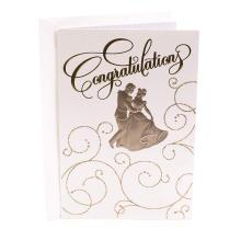 Свадебный банкет Гостевая открытка Свадебное приглашение