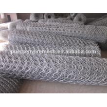 """La meilleure qualité 1/4 """", 3/4"""" Cheap Chicken Wire / Rabbit Wire Mesh / Galvanized Hexagonal Wire Mesh"""