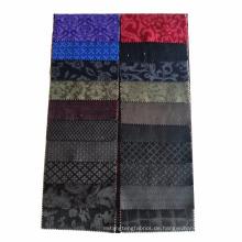 hochwertiges geprägtes Design Baumwollsamt Stoff