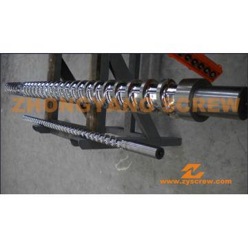 Пластиковые станки Etruder Винтовой цилиндр с твердым хромированным покрытием