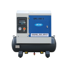 7.5KW Air Compressor Air 8 Bar Compressor Oil Injected Screw Air Compressor with Tank 10hp