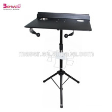 Hot Sale Tattoo Travel Desk Plateau / tatouage Stand Table Station / Traveling Case, réglable hauteur Stand Table Tray