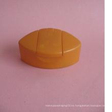 Shampoo Flip tapa de plástico sin botella de plástico