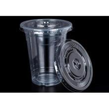 Heißer Verkauf hohe klare PP Cups für Saft