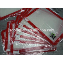 Non-stick tapete de cozimento de silicone, FDA, LFGB, resistente ao calor