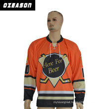 Sportswear Breathable and Cool Dry Ice Hockey Jerseys