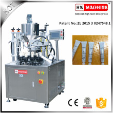 Máquina de llenado y sellado de tubos de pasta de ajo