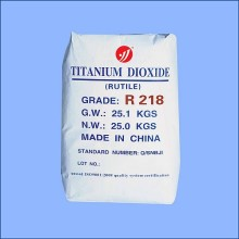Preço barato Uso geral dióxido de titânio Rutilo R218