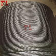 Cuerda de cable de acero inoxidable