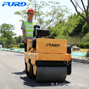 Hand Guided Diesel Power 550kg Small Hydraulic Vibrating Roller Compactor