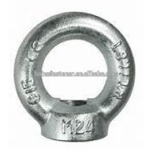 Acero al carbono Din582 Eye Nut / eye nut