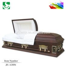 Distributeur en gros de cercueil en bois de style américain moderne