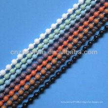 Рулонные шторы 4.5 * 6мм пластиковые бисерные мяч занавес цепь, занавес аксессуар, рольставни