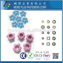 Fabriqué à Taiwan Special Colored Fancy Shaped Shoe Shoe Eyelets