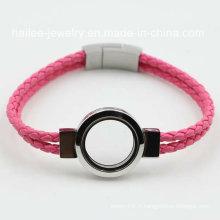 Bracelet à bijoux en acier inoxydable à la mode pour décoration