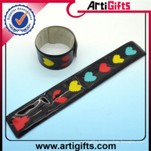 newpromotionalproducts slap bracelet material