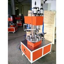 Máquina para rizar tubos de papel de caja