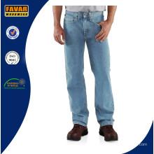 Mens Straight Leg entspannt Jeans Fit Arbeit